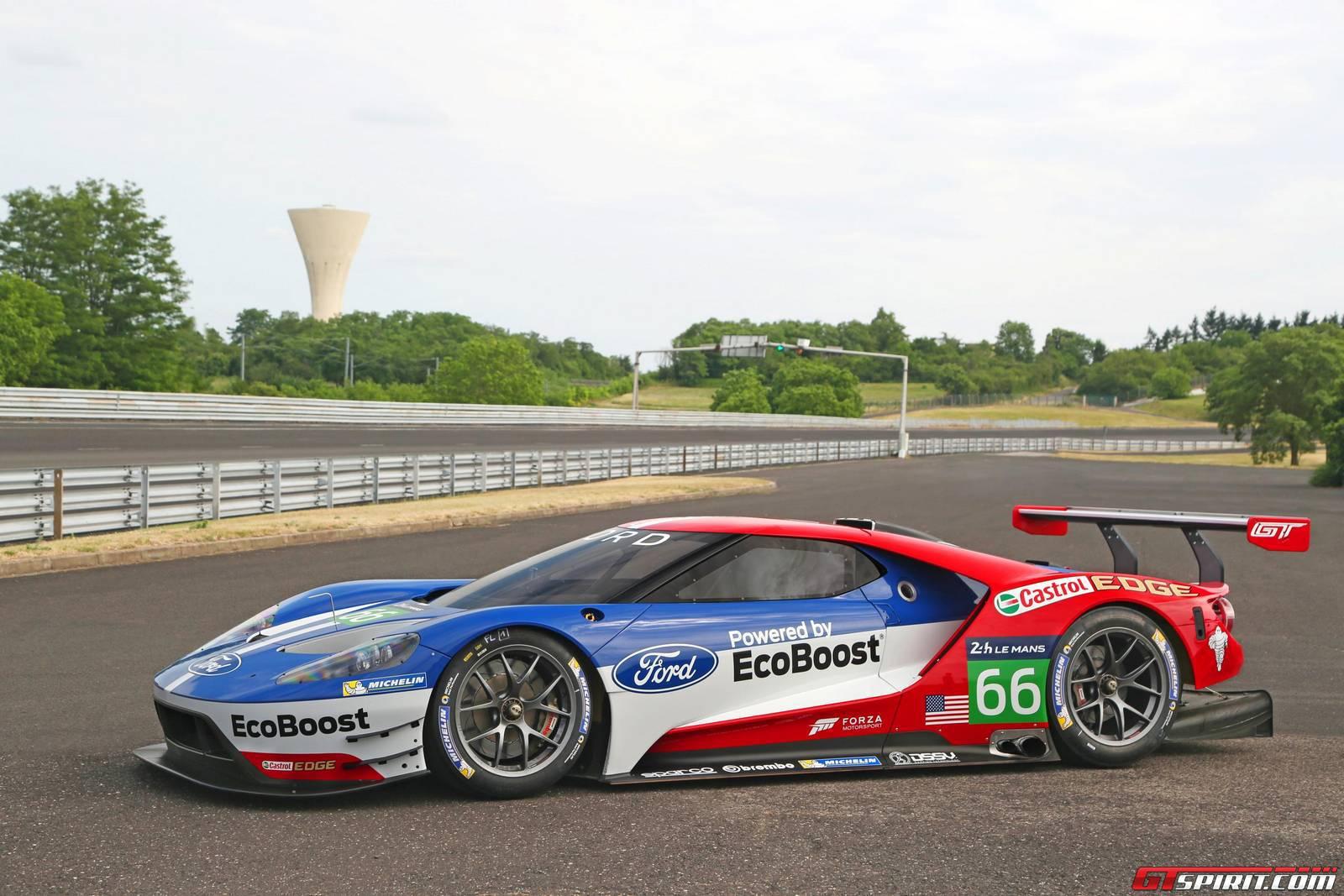 Ford Gt Gte Racecar
