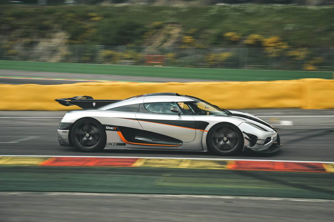 Koenigsegg One 1 Out To Beat Porsche 918 S Time At The