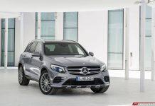 Mercedes-Benz GLC front