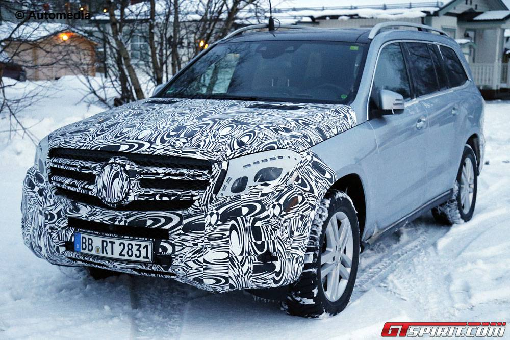 mercedes benz gls could get coupe and long wheelbase versions gtspirit. Black Bedroom Furniture Sets. Home Design Ideas