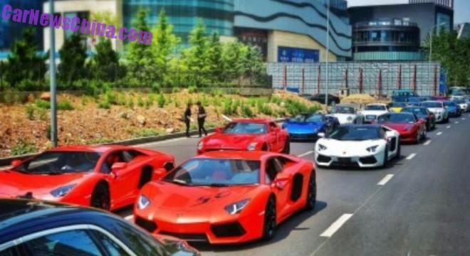 30 Supercars Attend Crazy Chinese Wedding!