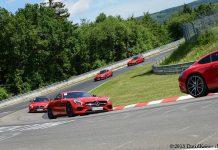 Mercedes-AMG GTs and Gumpert Apollo at Nurburgring