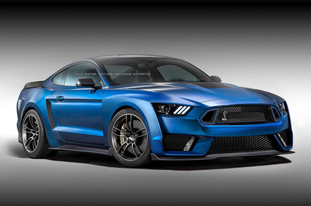 Next Ford Mustang Shelby GT500 Looks Insane in Rendering - GTspirit