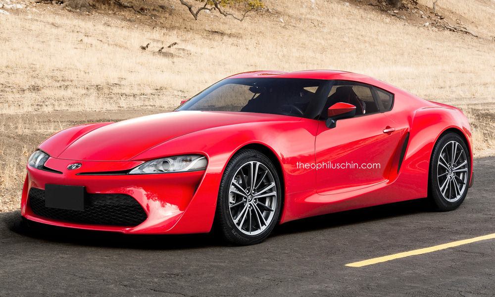 2018 toyota 86 gt.  2018 future toyota supra rendered throughout 2018 toyota 86 gt