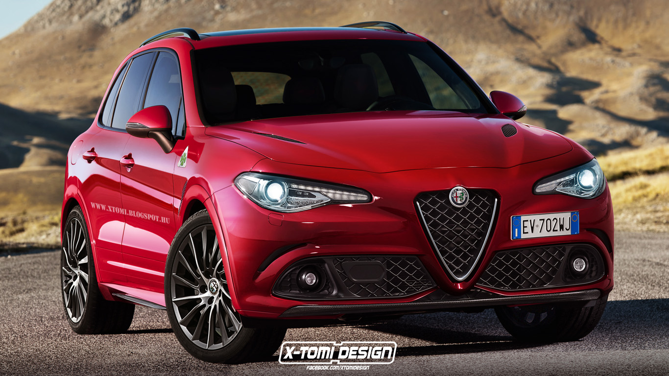 Alfa Romeo Suv Rendered With Giulia Styling Supercar