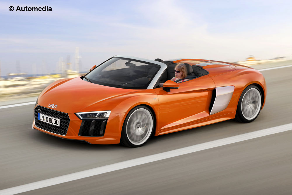 2016 Audi R8 Rendered As A Spyder Gtspirit