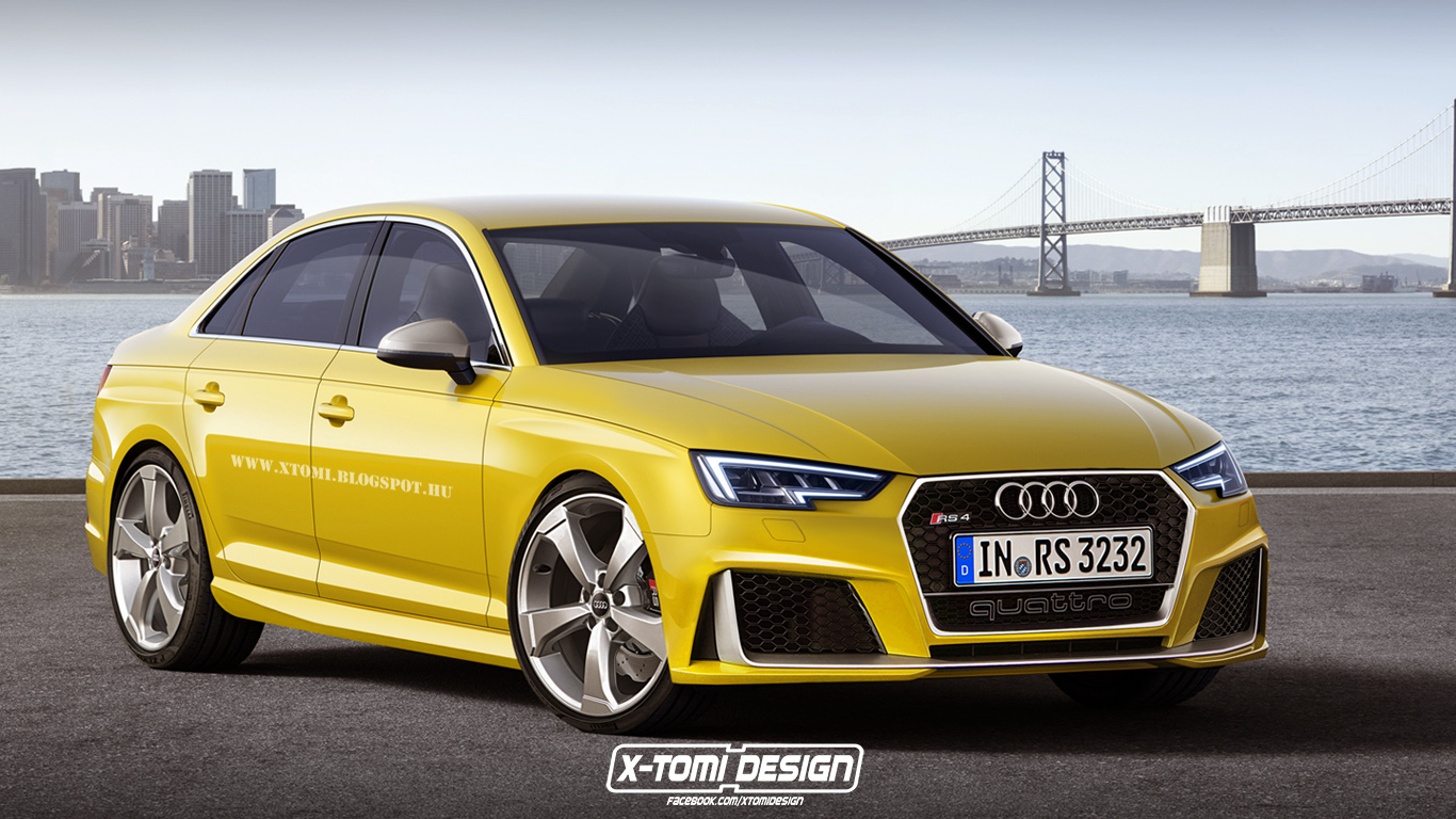 Audi Rs4 Sedan Is Oh So Tempting Gtspirit