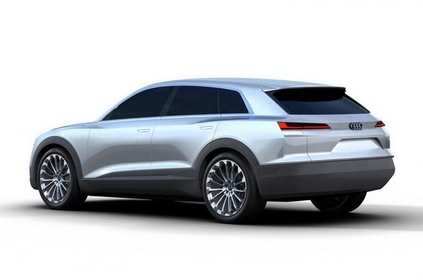 Audi C BEV Concept Leaked Before Frankfurt 2015 Rear