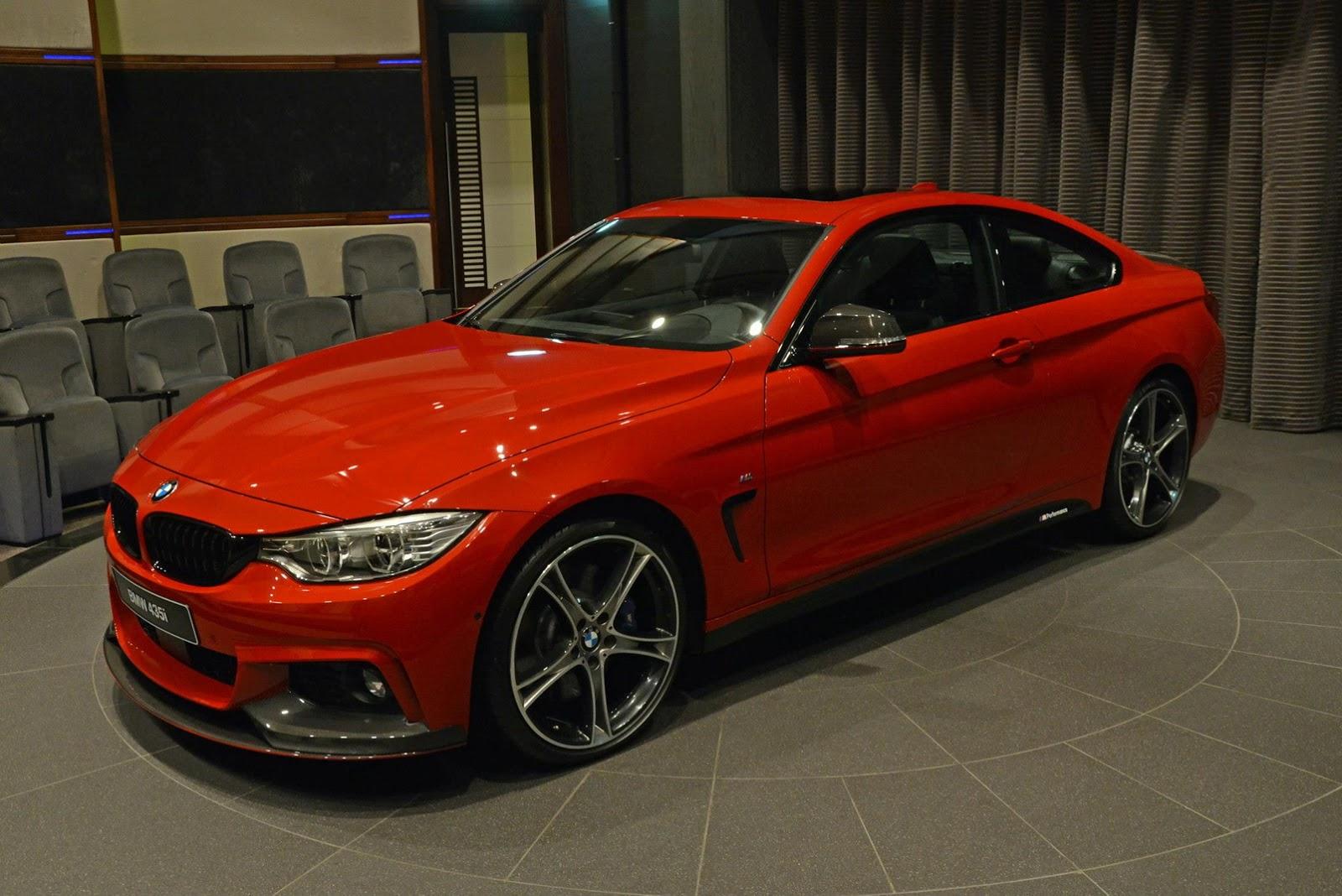 Special BMW I MSport Arrives In Abu Dhabi GTspirit - Bmw 435i m sport