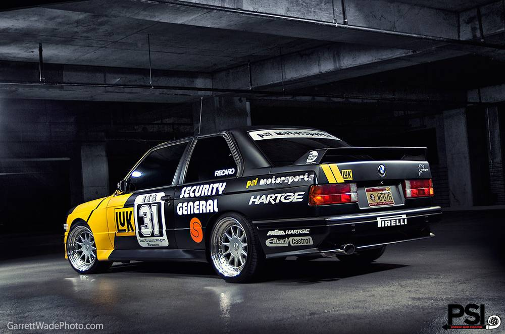 Matte Black Bmw E30 M3 Dtm Replica By Psi Gtspirit