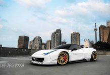 Toronto's First Liberty Walk Ferrari 458 Italia