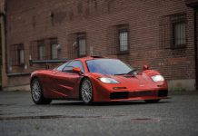 McLaren F1 LM Spec Auction front