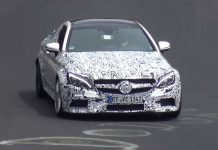 Mercedes-AMG C63 Coupe spied on the Nurburgring