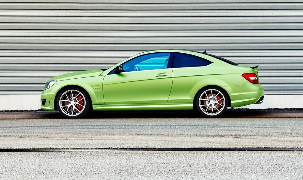 Official: 2015 Mercedes-Benz C63 AMG Coupe Legacy Edition - GTspirit