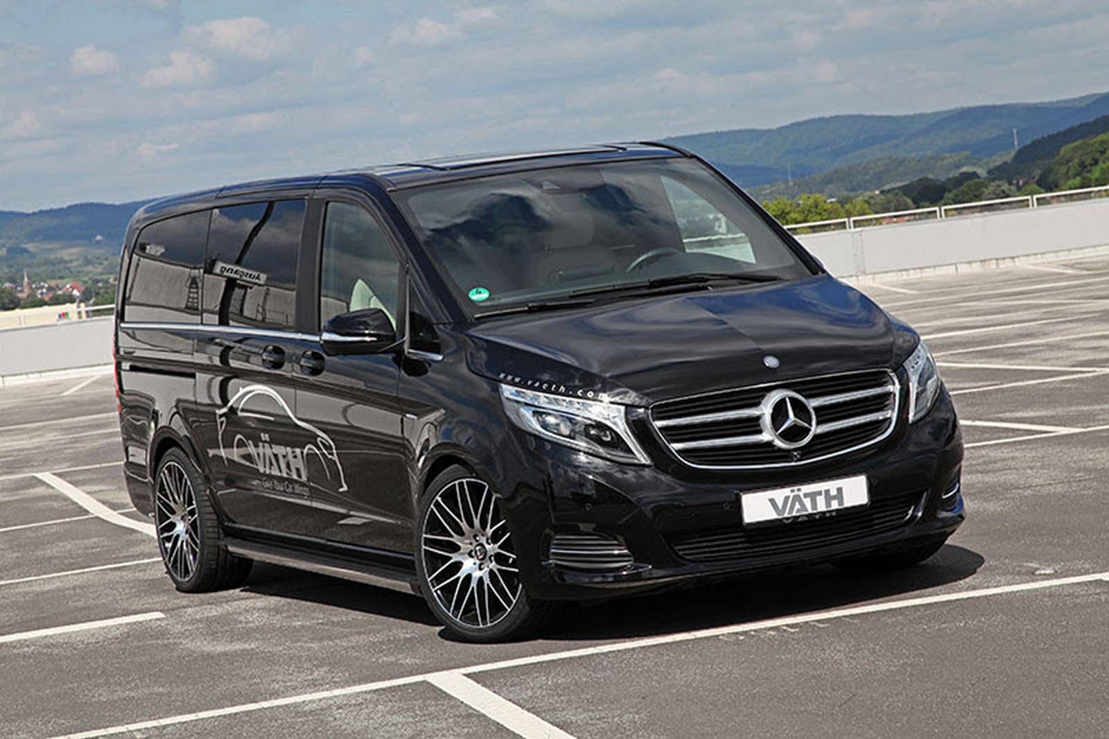 official vath mercedes benz v class gtspirit. Black Bedroom Furniture Sets. Home Design Ideas
