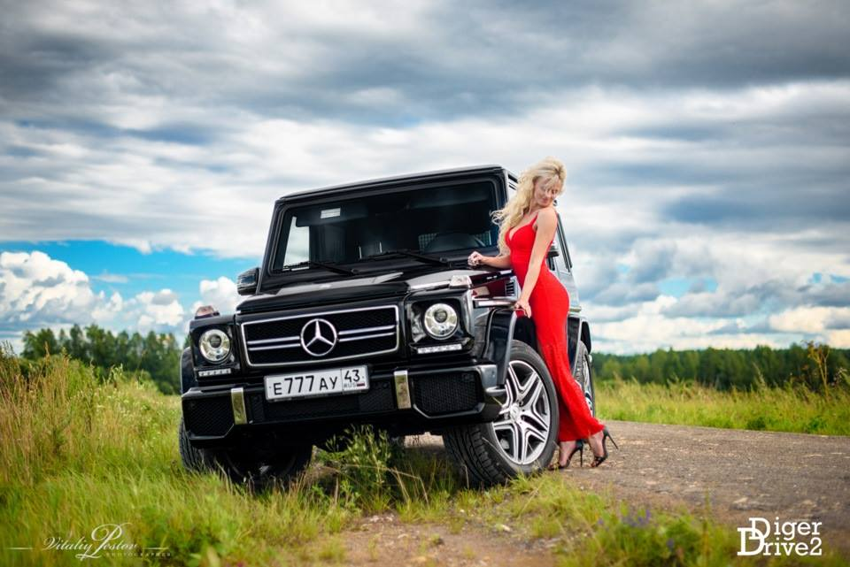 63 Power Wagon >> Cars and Girls: Sexy Russian Girl Poses With Mercedes G63 AMG - GTspirit