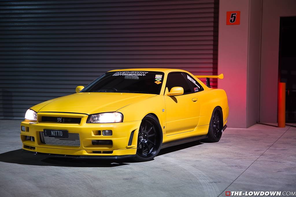 1000 Hp Gtr >> 1000hp Lightning Yellow Nissan GT-R Skyline V-Spec - GTspirit