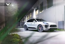 Porsche Macan Turbo Grins with New Vorsteiner Wheels!