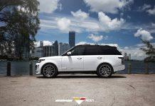 Vorsteiner Range Rover Veritas side