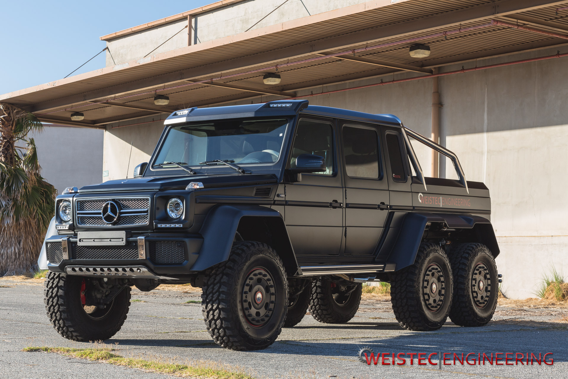 Weistec engineering mercedes benz g63 amg 6x6 in detail for Mercedes benz g63 6x6 for sale