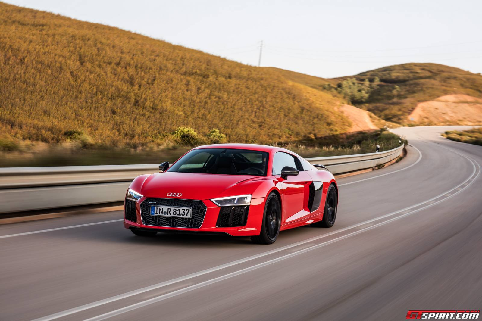 2016 audi r8 v10 plus review - gtspirit