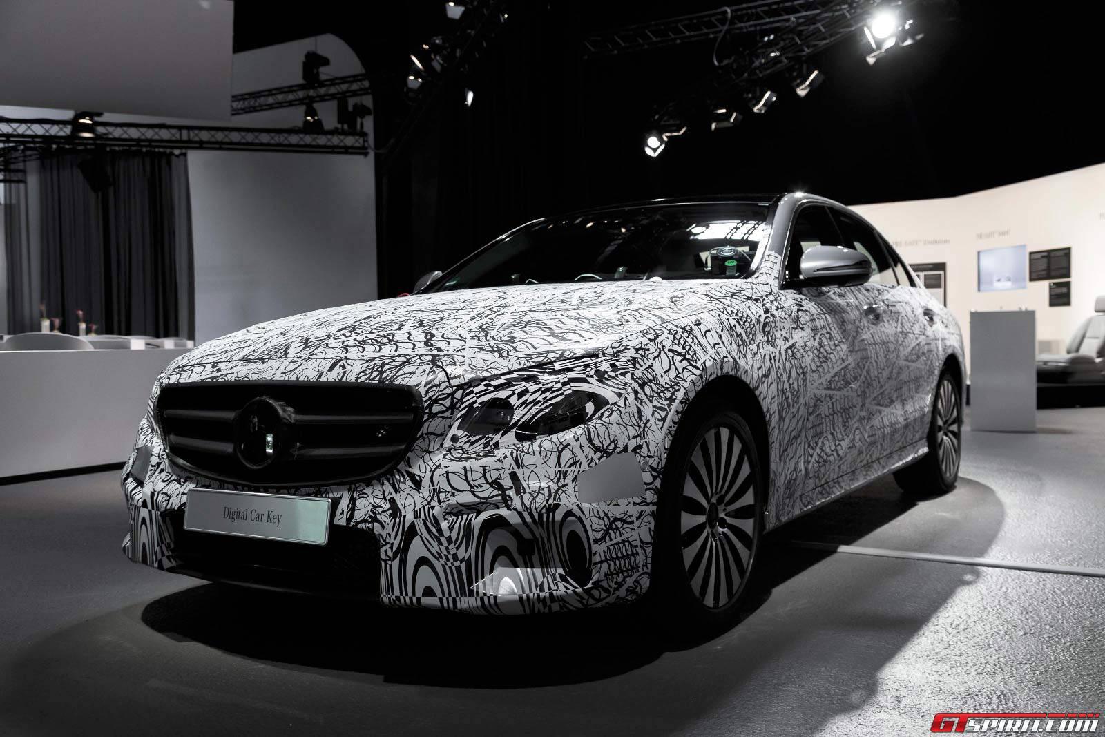 Mercedes-Benz Shows Off New E-Class Technology