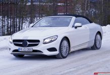 Mercedes-Benz S-Class Cabriolet debuting at Frankfurt Motor Show 2015
