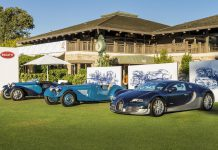 All Time Bugatti Super Sport Models Star at Monterey Car Week 2015