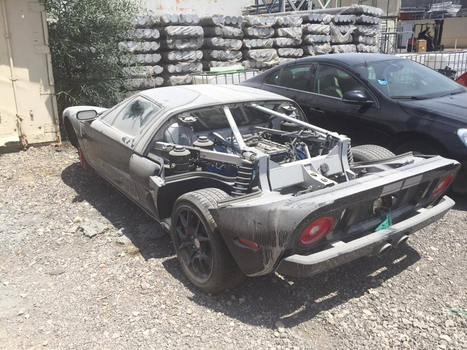 Abandoned Ford Gt Confiscated In Israel