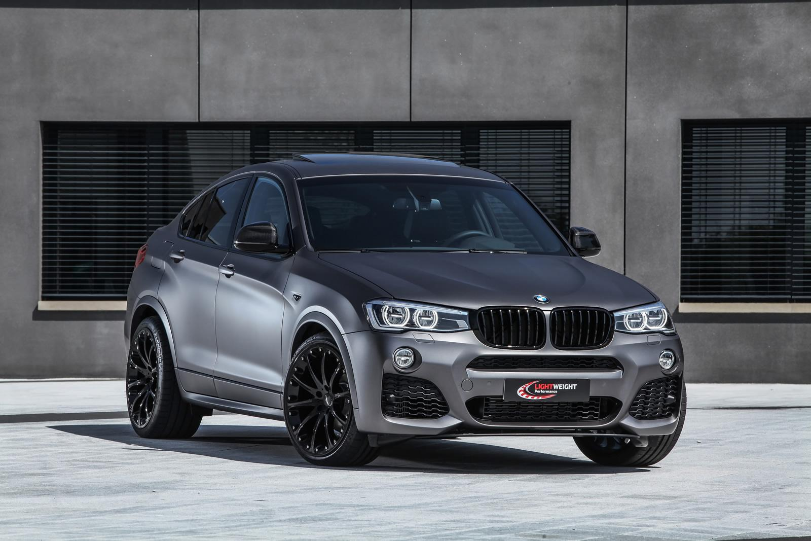 tuning firm 39 lightweight 39 reveals upgraded bmw x4 gtspirit. Black Bedroom Furniture Sets. Home Design Ideas