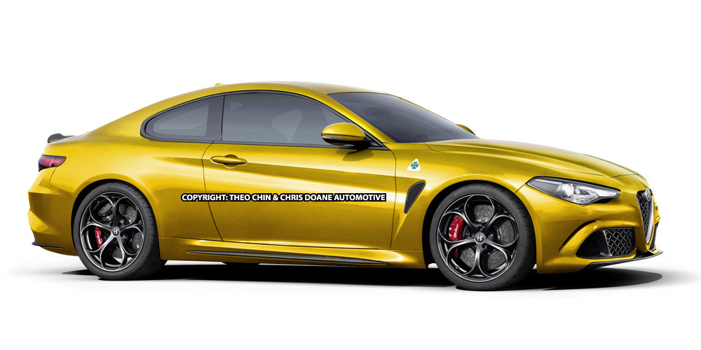 Alfa Romeo Giulia Rendered as a Coupe! - GTspirit