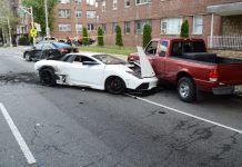 Fake Lamborghini Causes Crash in Jersey