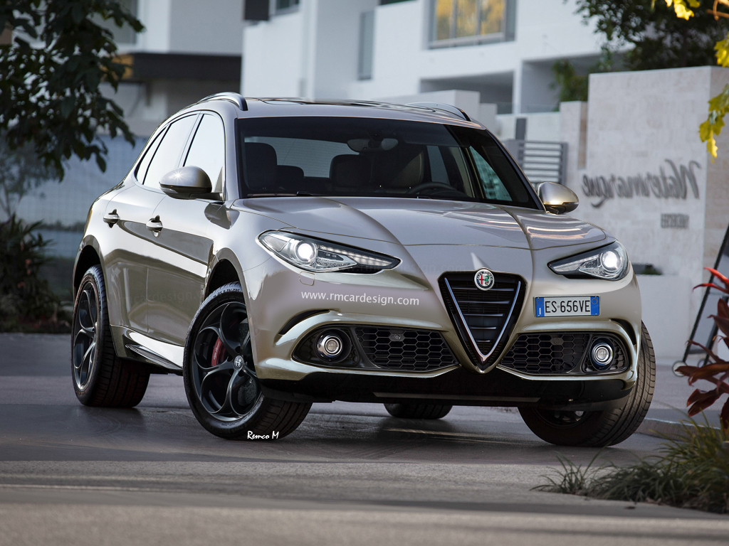 Alfa Romeo Suv Rendered Front