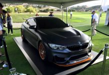 BMW M4 GTS Concept Debuts at Legends Of The Autobahn