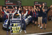 Jamie Chadwick & Ross Gunn claimed GT4 honours