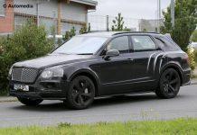 Bentley Bentayga Speed front view