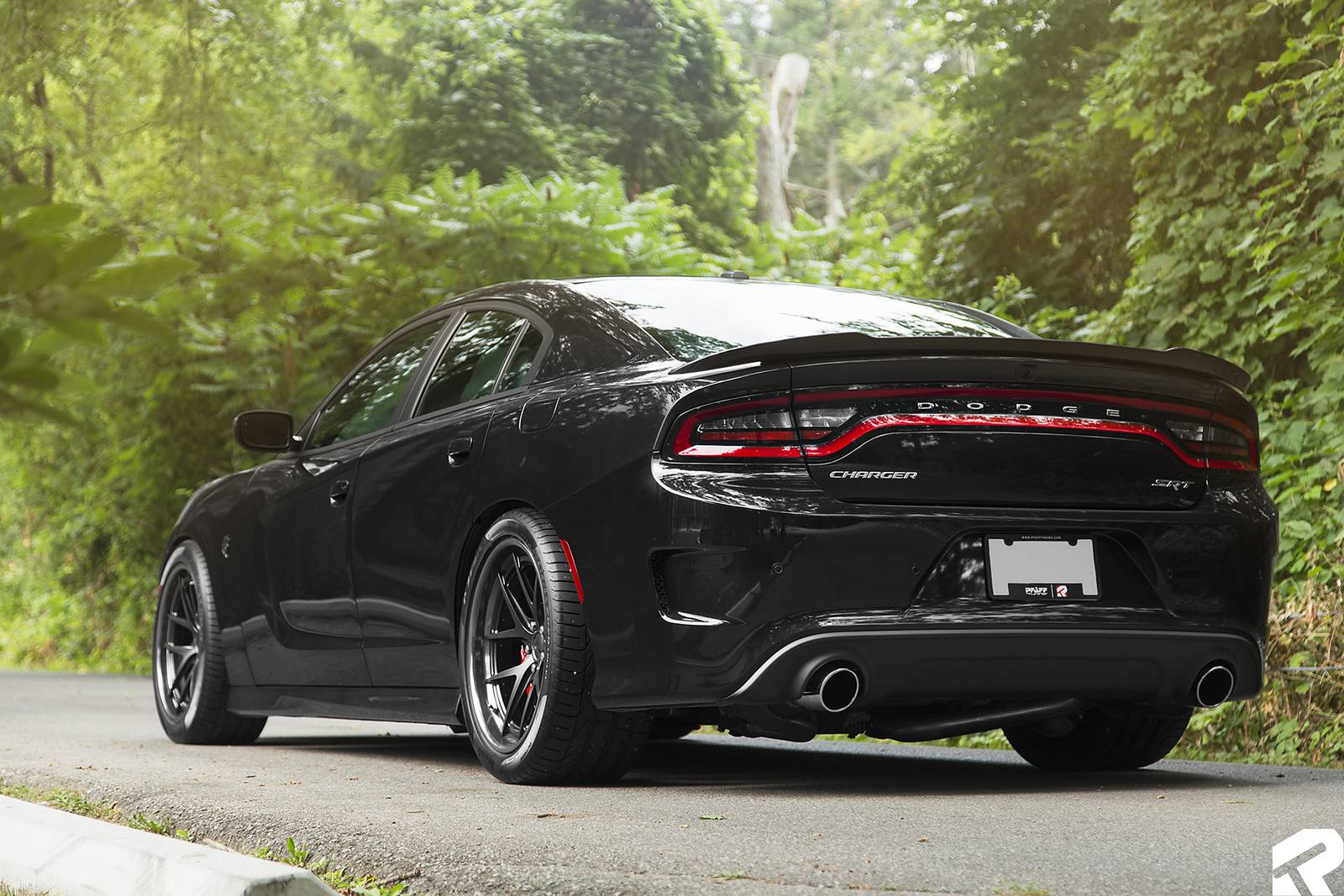 Black On Black Dodge Charger Srt Hellcat By Pfaff Tuning