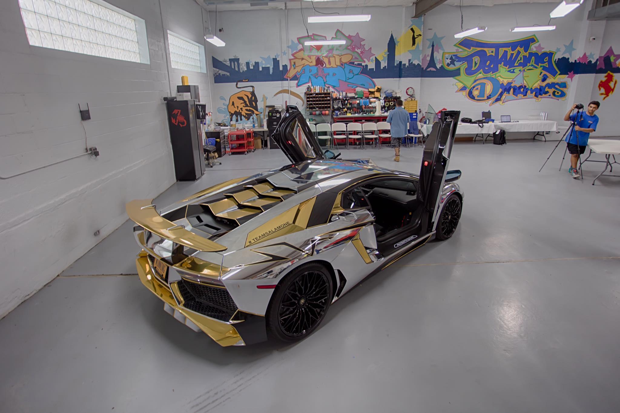Wallpaper Team Salamone Lamborghini 2018 - Carina on silver and orange lamborghini murcielago, silver car in saudi, silver matte aventador,