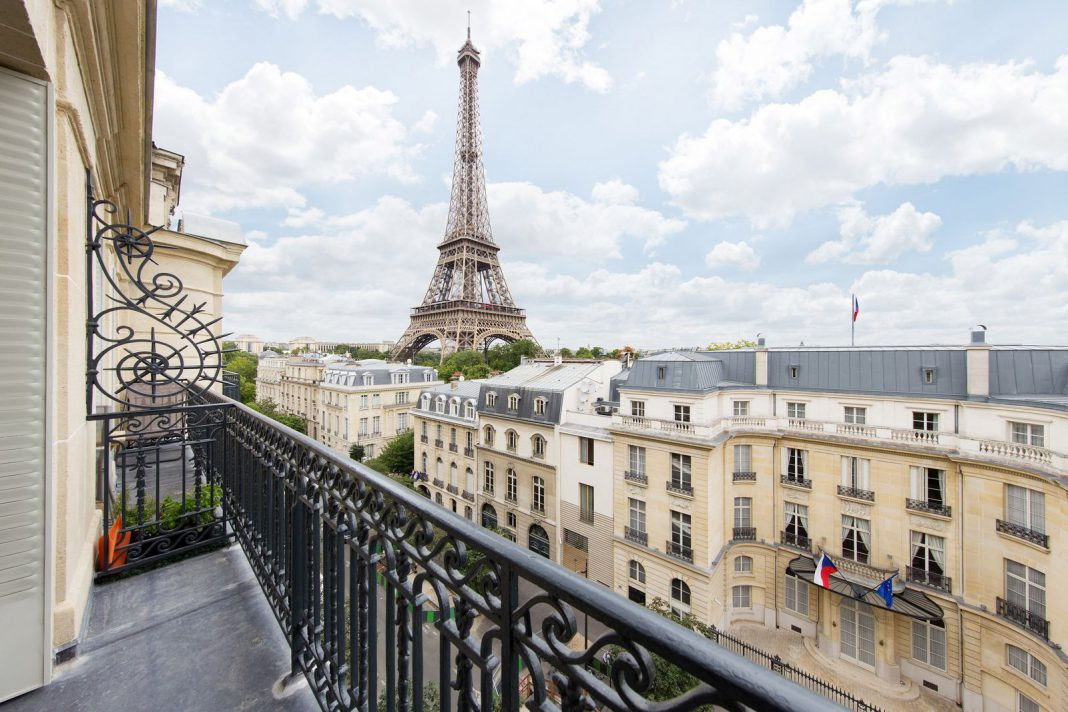 Eiffel tower penthouse for sale