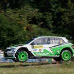 FIA ERC Czech Rally Skoda Fabia R5