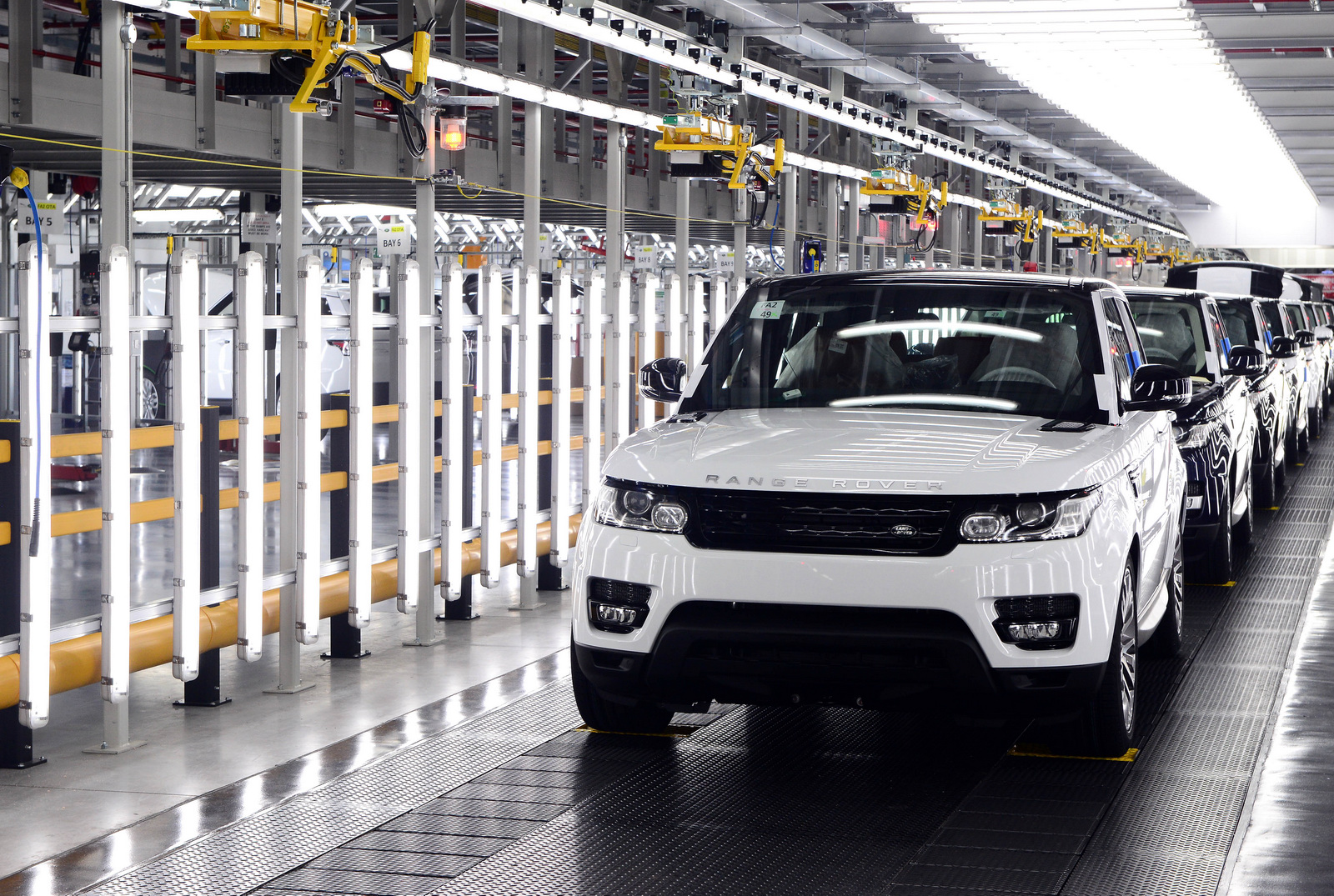 Jaguar Land Rover Investigating Slovakian Plant - GTspirit