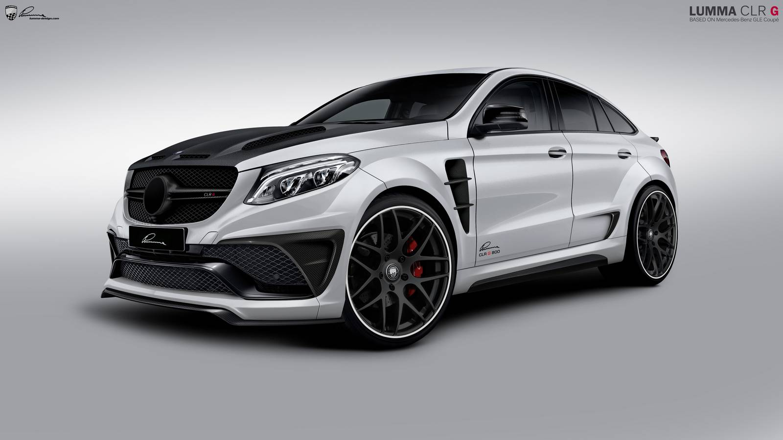 official lumma clr g800 mercedes amg gle63 coupe gtspirit. Black Bedroom Furniture Sets. Home Design Ideas