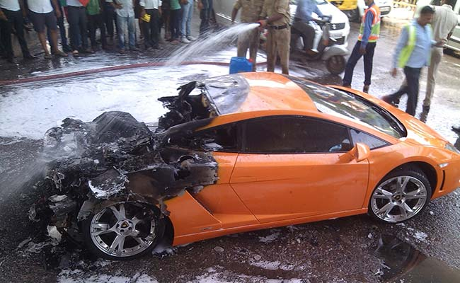 Lamborghini Car Crash In Delhi