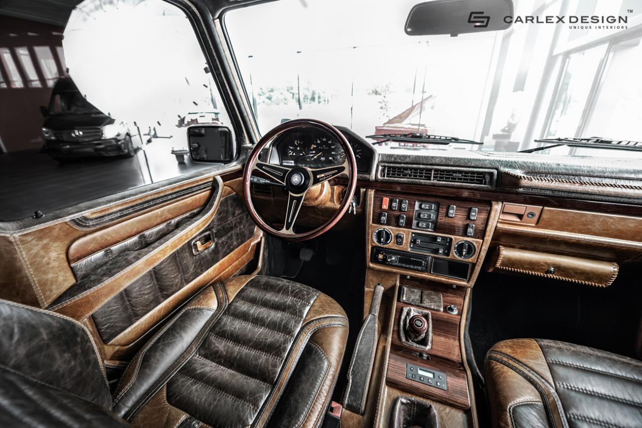 Official 1990 Mercedes Benz G Class By Carlex Design Gtspirit