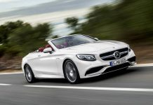 Mercedes-Benz S-Class Cabriolet Top Down