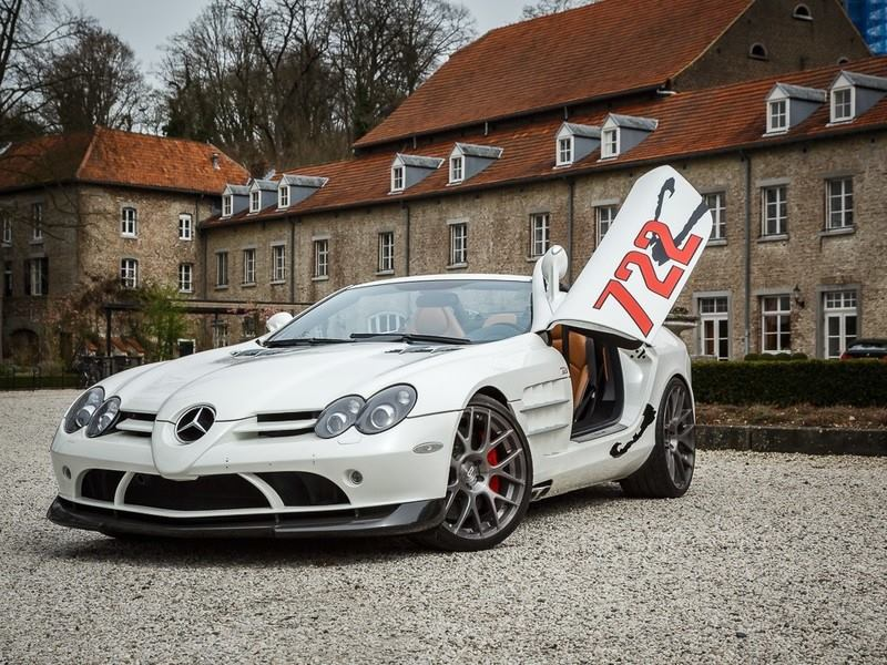 Mercedes Benz Slr Mclaren 722 S Roadster For Sale In The
