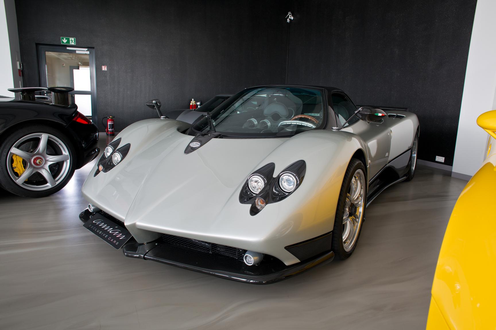 Stunning Silver Pagani Zonda F For Sale - GTspirit