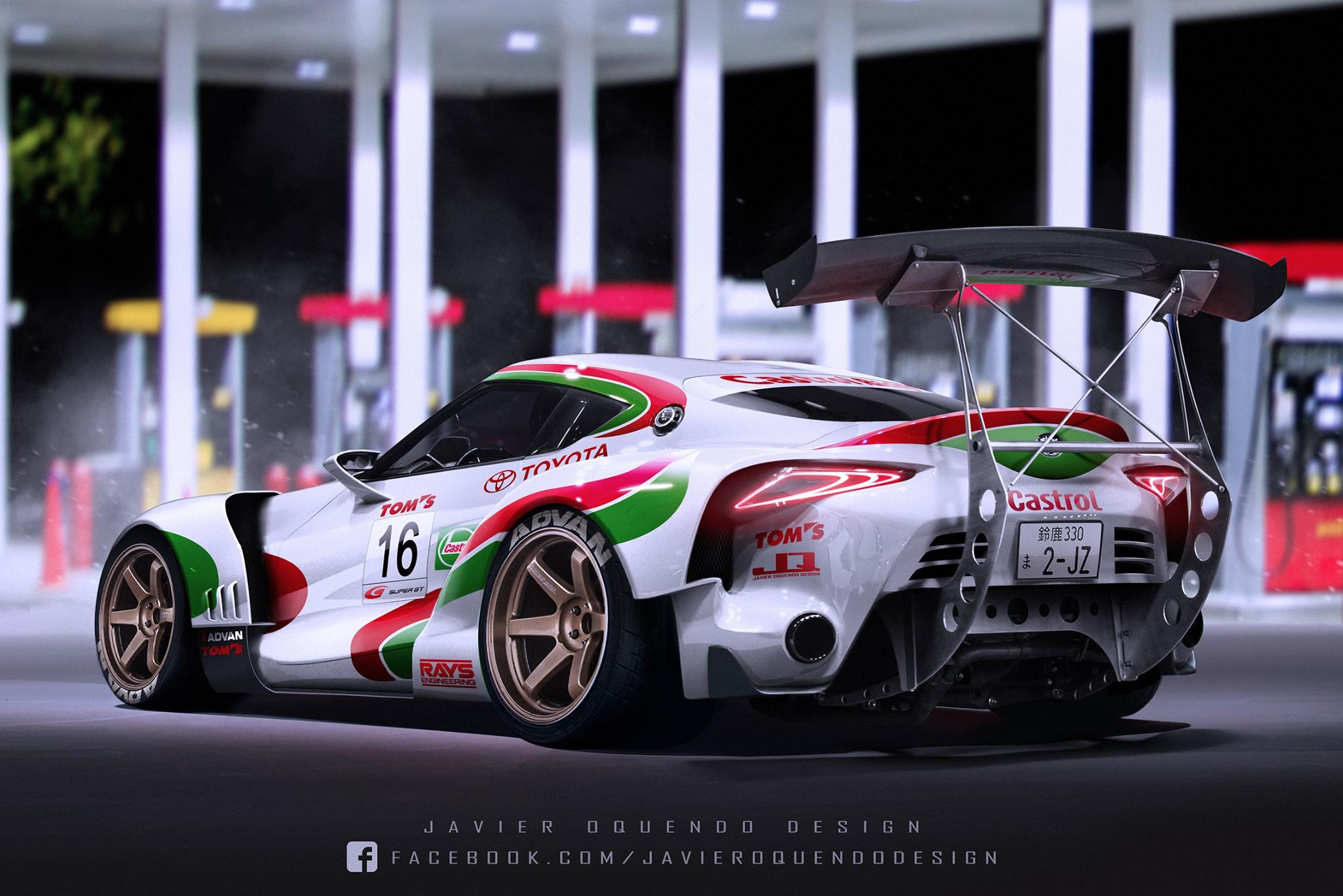 Aggressive Toyota FT-1 Super GT Comes to Life! - GTspirit