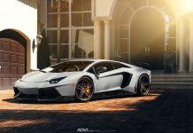 Lamborghini Aventador Novitec ADV.1 front