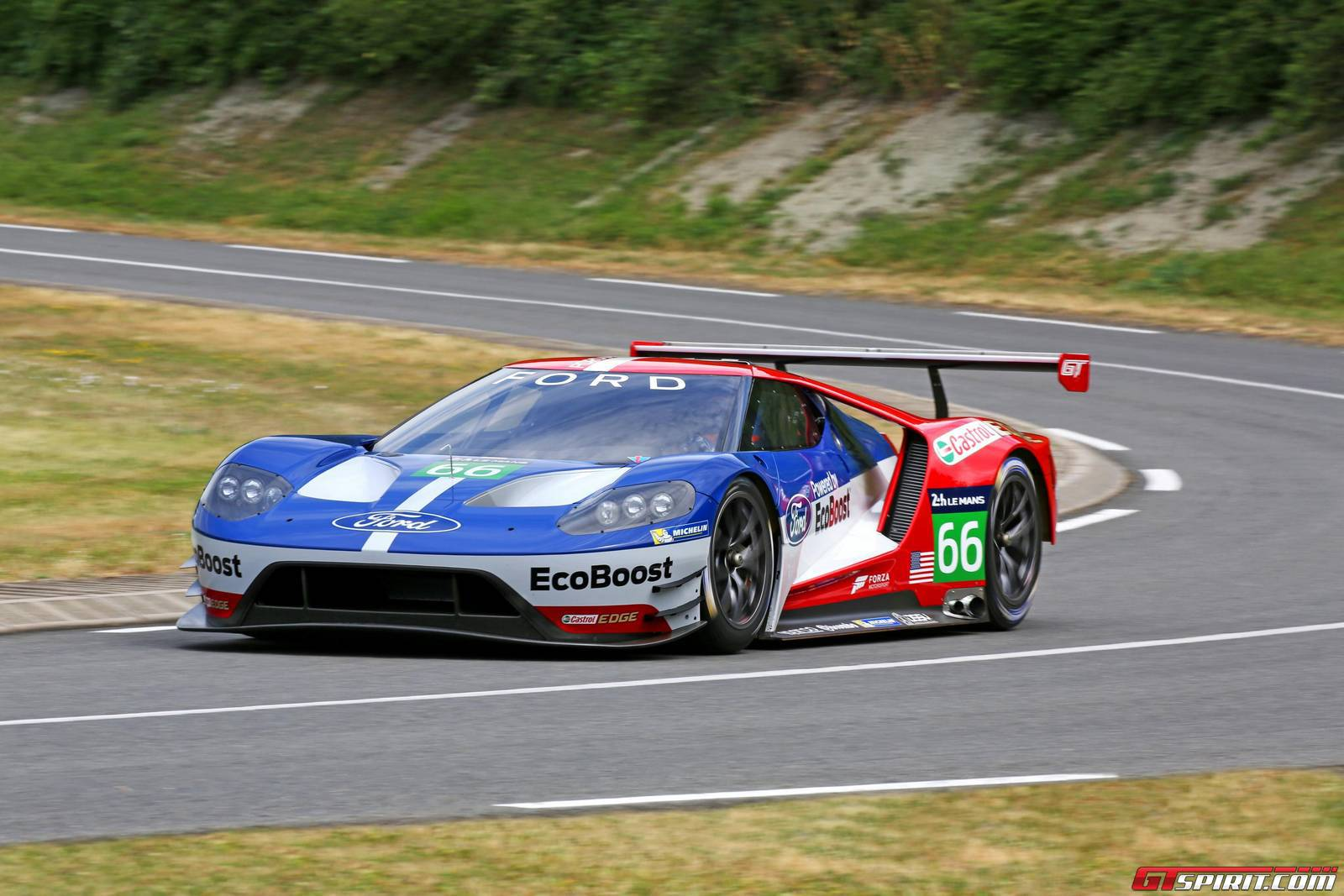Alongside Competing At Le Mans And The Fia World Endurance Championship The  Ford Gt Gte Will Also Participate In The Tudor United Sportscar